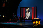 Stage & Sunflowers during the Celebrate the Life of Marin Mazzie Memorial Service at the Gershwin Theatre on October 25, 2018 in New York City.