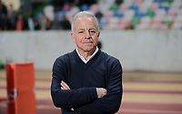 Leiria, Portugal - Tuesday November 14, 2017: Dave Sarachan during an International friendly match between the United States (USA) and Portugal (POR) at Estádio Dr. Magalhães Pessoa.