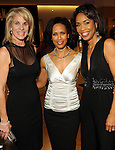 From left: Bethany Hughes, Angela Rae and honoree Gina Gaston Elie at the Houston Chronicle's Best Dressed announcement party at Neiman Marcus Wednesday Feb 01,2012. (Dave Rossman/For the Chronicle)