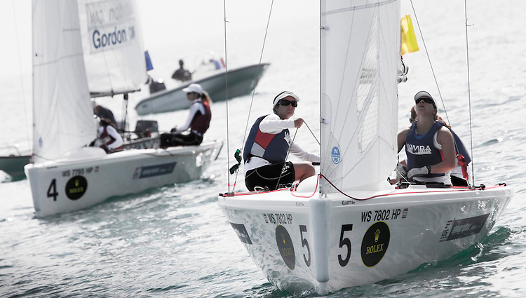 USA, Rebecca Dellenbaugh, Maggie Shea, Janel Zarkowsky, Women Match Racing