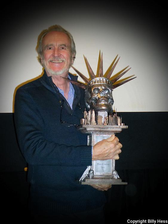 Wes Craven Lifetime Achievement Award NYC 11/2012