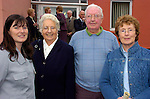 Photograghed at Miltown Secondary School 50th anniversary were Kerry Harkin, Sr. Columbanus Quirke, George McCaulife Rosemary Healy.<br /> Photograph Sally MacMonagle.