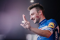 Elia Viviani (ITA/QuickStep Floors) wins his 3rd stage in this sedition of the Giro<br /> <br /> stage 13 Ferrara - Nervesa della Battaglia (180km)<br /> 101th Giro d'Italia 2018