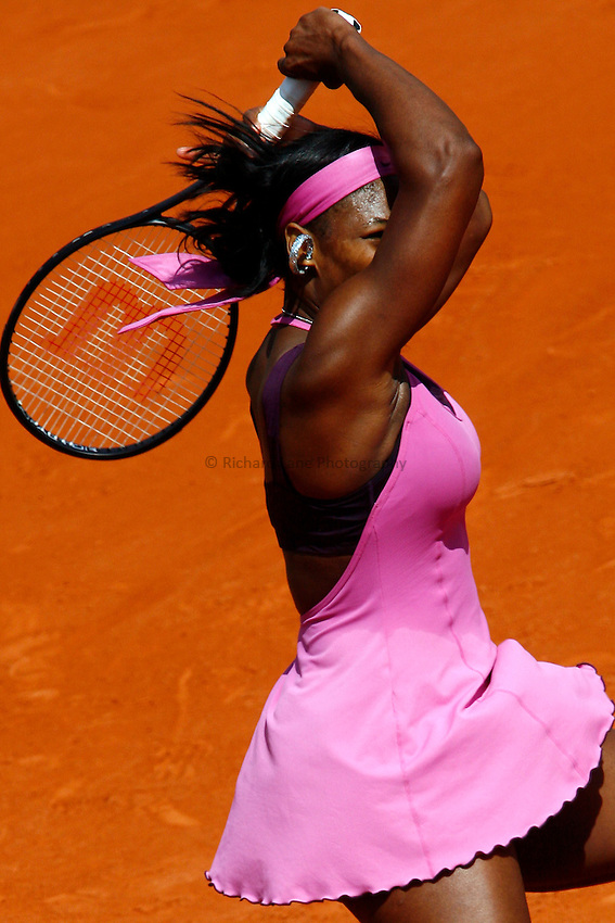 Photo: Iconsport/Richard Lane Photography..French Open, Roland Garros 2007. 31/05/2007..Serena Williams.