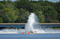 Frame 6: Dan Orchard, (#97) spins and rolls over in the East Turn. (SST-120 class)