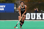 09 November 2014: Wake Forest's Anna Kozniuk (CAN). The Wake Forest University Demon Deacons played the Syracuse University Orange at Jack Katz Stadium in Durham, North Carolina in the 2014 Atlantic Coast Conference NCAA Division I Field Hockey Championship Game. Wake Forest won the ACC Championship game 2-0.