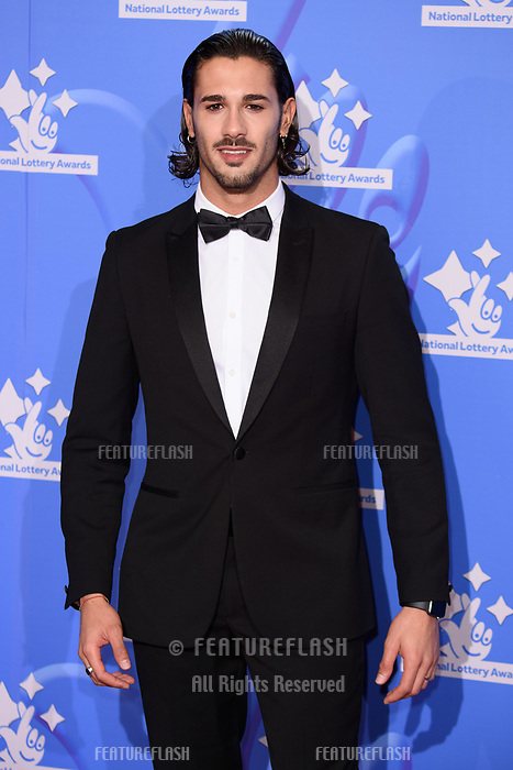LONDON, UK. September 21, 2018: Graziano Di Prima at the National Lottery Awards 2018 at the BBC Television Centre, London.<br /> Picture: Steve Vas/Featureflash