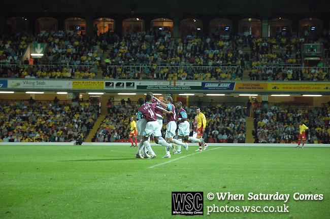 Watford 1 West Ham United 1, 22/08/2006. Vicarage Road, Premier League. Photo by Simon Gill