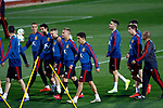 Spanish players during the training of the spanish national football team in the city of football of Las Rozas in Madrid, Spain. March 18, 2019. (ALTERPHOTOS/Manu R.B.)