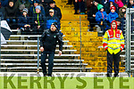 Kerry Manager Peter Keane during the Allianz Football League Division 1 Round 5 match between Kerry and Monaghan at Fitzgerald Stadium in Killarney, on Sunday.