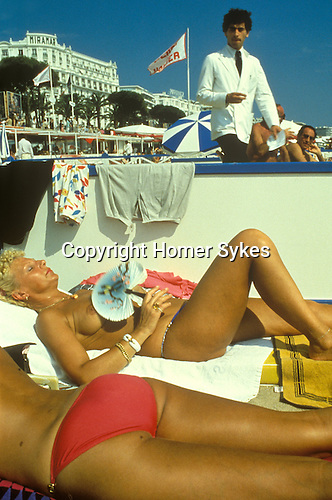 Cannes Film Festival South of France. 1980