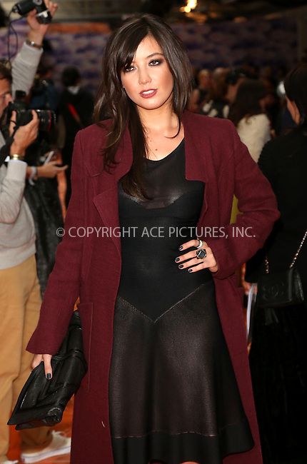 WWW.ACEPIXS.COM<br /> <br /> US Sales Only<br /> <br /> Daisy Lowe at the House of Holland Show during London Fashion Week SS14 on September 14 2013  in London<br /> <br /> By Line: Famous/ACE Pictures<br /> <br /> <br /> ACE Pictures, Inc.<br /> tel: 646 769 0430<br /> Email: info@acepixs.com<br /> www.acepixs.com