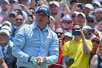 Phil Mickelson (USA) watches his tee shot on 1 during round 1 of The Players Championship, TPC Sawgrass, at Ponte Vedra, Florida, USA. 5/10/2018.<br /> Picture: Golffile | Ken Murray<br /> <br /> <br /> All photo usage must carry mandatory copyright credit (&copy; Golffile | Ken Murray)
