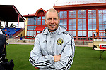 11 January 2015: Columbus Crew head coach Gregg Berhalter. The 2015 MLS Player Combine was held on the cricket oval at Central Broward Regional Park in Lauderhill, Florida.