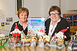 Mary Moore and Cara Trant getting ready for the Listowel Christmas Craft Fair.
