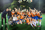 BLOEMENDAAL  - Hockey -  finale KNHB Gold Cup dames, Bloemendaal-HDM (1-1) . Bloemendaal wint na shoot outs.   COPYRIGHT KOEN SUYK