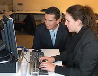 17-02-2005,Rotterdam, ABNAMROWTT , Chatsessie met Krajicek