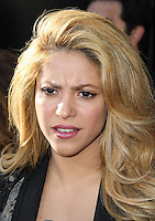 """HOLLYWOOD, LOS ANGELES, CA, USA - APRIL 03: Shakira at the NBC's """"The Voice"""" Red Carpet Event held at The Sayers Club on April 3, 2014 in Hollywood, Los Angeles, California, United States. (Photo by Xavier Collin/Celebrity Monitor)"""