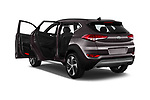 Car images close up view of a 2018 Hyundai Tucson Executive 5 Door SUV doors