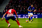 Mikel Balenziaga Oruesagasti of Athletic de Bilbao (R) in action during the La Liga 2018-19 match between Atletico de Madrid and Athletic de Bilbao at Wanda Metropolitano, on November 10 2018 in Madrid, Spain. Photo by Diego Gouto / Power Sport Images