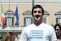 Eutanasia Legale, protesta in Piazza Montecitorio