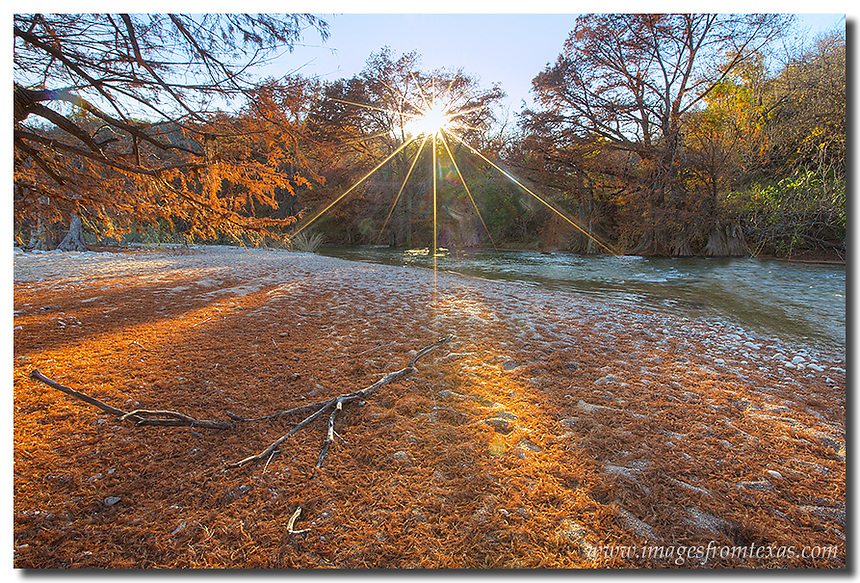 I like to call this image of the Texas Hill Country &quot;the Other Side of the River.&quot; <br />
