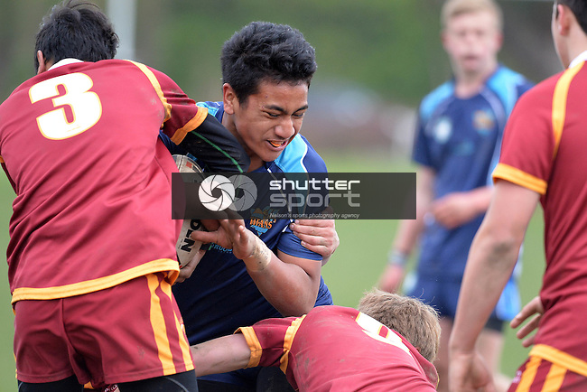 NELSON, NEW ZEALAND - JULY 7: Day 2 of the 2015 15s and 17s South Island Rugby League Tournament at Tahunanui Reserve on July 7, 2015 in Nelson, New Zealand. (Photo by Barry Whitnall/Shuttersport Limited)