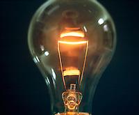 LIGHT BULB<br /> Clear bulb shows filament