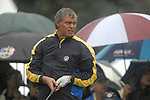 Ryder Cup 206 K Club, Straffan, Ireland..European Ryder Cup team player Darren Clarke on the 16th fairway during the morning fourballs session of the second day of the 2006 Ryder Cup at the K Club in Straffan, Co Kildare, in the Republic of Ireland, 23 September 2006...Photo: Eoin Clarke/ Newsfile.