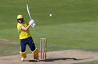 Sam Northeast of Hampshire in batting action during Hampshire vs Essex Eagles, Vitality Blast T20 Cricket at the Ageas Bowl on 25th August 2019