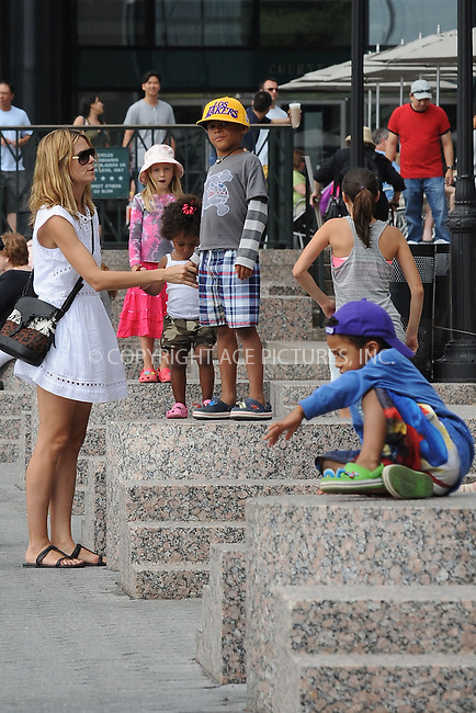 WWW.ACEPIXS.COM . . . . . .June 26, 2011...New York City...Heidi Klum and Family  on June 26, 2011 in New York City....Please byline: KRISTIN CALLAHAN - ACEPIXS.COM.. . . . . . ..Ace Pictures, Inc: ..tel: (212) 243 8787 or (646) 769 0430..e-mail: info@acepixs.com..web: http://www.acepixs.com .