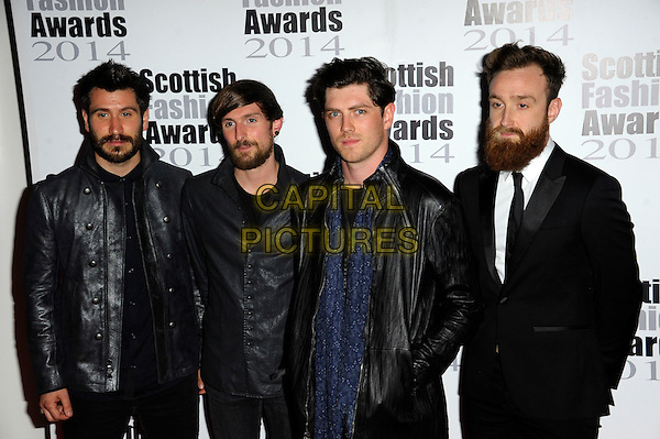 Twin Atlantic attends The Scottish Fashion Awards held at 8  Northumberland Avenue, on September 1, 2014 in London, England. <br /> CAP/CJ<br /> &copy;Chris Joseph/Capital Pictures