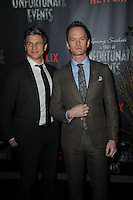 www.acepixs.com<br /> January 11, 2017  New York City<br /> <br /> David Burtka and Neil Patrick Harris attending Netflix&rsquo;s world premiere of Lemony Snicket&rsquo;s 'A Series of Unfortunate Events' at AMC Lincoln Square on January 11, 2017 in New York City.<br /> <br /> <br /> Credit: Kristin Callahan/ACE Pictures<br /> <br /> <br /> Tel: 646 769 0430<br /> Email: info@acepixs.com