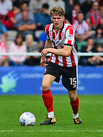 Lincoln City's Rob Dickie<br /> <br /> Photographer Andrew Vaughan/CameraSport<br /> <br /> The EFL Sky Bet League Two - Lincoln City v Morecambe - Saturday August 12th 2017 - Sincil Bank - Lincoln<br /> <br /> World Copyright &copy; 2017 CameraSport. All rights reserved. 43 Linden Ave. Countesthorpe. Leicester. England. LE8 5PG - Tel: +44 (0) 116 277 4147 - admin@camerasport.com - www.camerasport.com