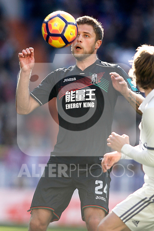 Granada CF's Artem Kravets during La Liga match. January 7,2016. (ALTERPHOTOS/Acero)