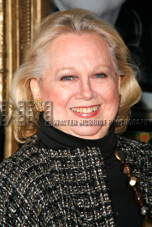 Barbara Cook arriving for the Opening Night Performance of DEUCE at the Music Box Theatre in New York City.<br />