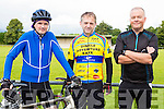 Dara Walsh Fossa Pat Sullivan and Paul Neary Beaufort at the Ring of the Reeks cycle in Beaufort on Saturday