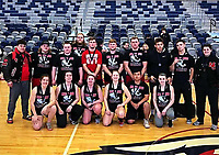 RICK PECK/SPECIAL TO MCDONALD COUNTY PRESS<br /> The McDonald County High School boys' and girls' powerlifting team both took second place at the 3rd Annual Joplin High School Powerlifting meet held Jan. 19 at Joplin High School.