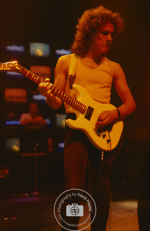Vivian Campbell Performing at NAMM  June 1986 in Chicago