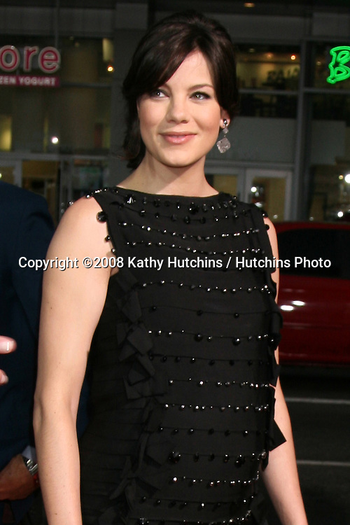 "Michelle Monaghan  arriving at the premiere of ""Eagle Eye"" at Mann's Chinese Theater in Los Angeles ,CA on.September 16, 2008.©2008 Kathy Hutchins / Hutchins Photo...."