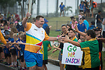 Batonbearer David Inch carrying the Baton as the Queen's Baton Relay visited Bowen. In the host state of Queensland the Queen's Baton will visit 83 communities from Saturday 3 March to Wednesday 4 April 2018. As the Queen's Baton Relay travels the length and breadth of Australia, it will not just pass through, but spend quality time in each community it visits, calling into hundreds of local schools and community celebrations in every state and territory. The Gold Coast 2018 Commonwealth Games (GC2018) Queen's Baton Relay is the longest and most accessible in history, travelling through the Commonwealth for 388 days and 230,000 kilometres. After spending 100 days being carried by approximately 3,800 batonbearers in Australia, the Queen's Baton journey will finish at the GC2018 Opening Ceremony on the Gold Coast on 4 April 2018.