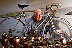 Paudie Fitzgerald of Dingle who won many trophies for cycling including the Ras but is most famous for attempting to participate in the Olmpics in Melbourne in 1956.<br /> Picture by Don MacMonagle *** Local Caption *** &copy;macmonagle photography,<br /> 6 port road,<br /> killarney,<br /> county kerry<br /> ireland<br /> email: info@macmonagle.com<br /> Tel: 353-64-32833