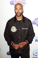 Marvin Humes at the Capital FM Summertime Ball at Wembley Stadium, London on June 8th 2019<br /> CAP/ROS<br /> ©ROS/Capital Pictures