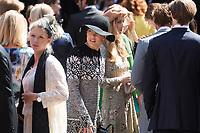 Mariage du Prince Ernst junior de Hanovre et de Ekaterina Malysheva &agrave; l'&eacute;glise Markkirche &agrave; Hanovre.<br /> Allemagne, Hanovre, 8 juillet 2017.<br /> Wedding of Prince Ernst Junior of Hanover and Ekaterina Malysheva at the Markkirche church in Hanover.<br /> Germany, Hanover, 8 july 2017<br /> Pic : Princess Charlotte Casiraghi &amp; Beatrice Borromeo