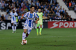 CD Leganes's Sabin Merino and FC Barcelona's XXX during La Liga match between CD Leganes and FC Barcelona at Butarque Stadium in Madrid, Spain. September 26, 2018. (ALTERPHOTOS/A. Perez Meca)