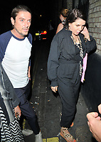 Darren Strowger and Sadie Frost at the HENI Gallery x Adidas &quot;Prouder&quot; project private view &amp; party, HENI Gallery, Lexington Street, London, England, UK, on Tuesday 03 July 2018.<br /> CAP/CAN<br /> &copy;CAN/Capital Pictures