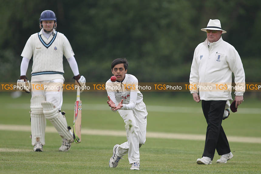 Haida Zaidi of South Woodford during South Woodford CC vs Billericay CC, Shepherd Neame Essex League Cup Cricket at Highfield Road on 6th May 2017