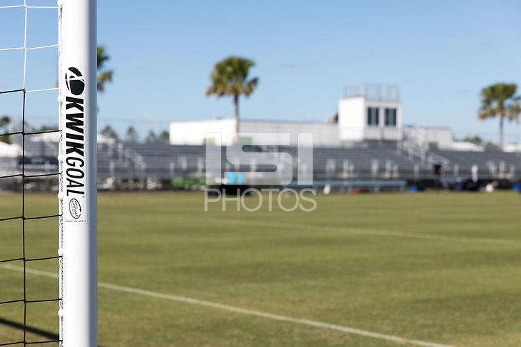 LAKEWOOD RANCH, FL - December 4, 2017: The 2017 Development Academy Winter Showcase at Premier Sports Campus.