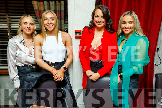Enjoying the evening in Cassidys on Saturday.<br /> L to r: Tara Neelan, Flora Piquit, Hazel O'Donovan and Sinead Tobin.