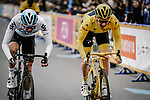 Tour de France Champion Geraint Thomas (WAL) Team Sky in action during the 2018 Saitama Criterium, Japan. 4th November 2018.<br /> Picture: ASO/Pauline Ballet | Cyclefile<br /> <br /> <br /> All photos usage must carry mandatory copyright credit (&copy; Cyclefile | ASO/Pauline Ballet)
